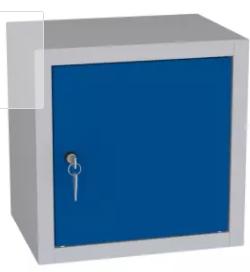 Spind, Hängeschrank, Schrankaufsatz, Würfel - 400x400x300 mm (HxBxT)
