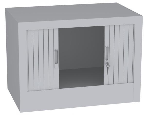 Aufsatzschrank mit Rollladen - 1 Fach - 505x800x500 mm (HxBxT)