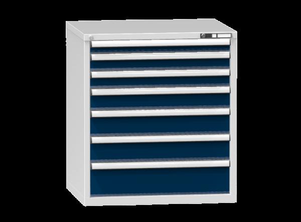 Schubladenschrank - Standcontainer - 1+2+1+2+1 Schublade - 990x884x753 mm (HxBxT)