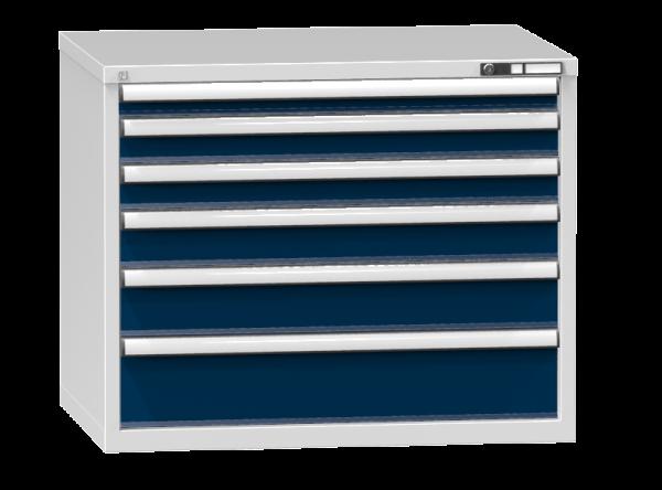 Schubladenschrank - Standcontainer - 1+2+1+1+1 Schublade - 840x1037x753 mm (HxBxT)