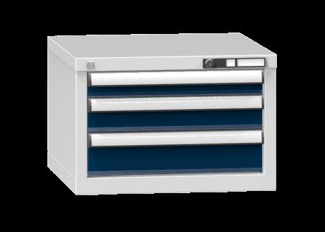 Schubladenschrank - Standcontainer - 1+1+1 Schublade - 390x578x600 mm (HxBxT)
