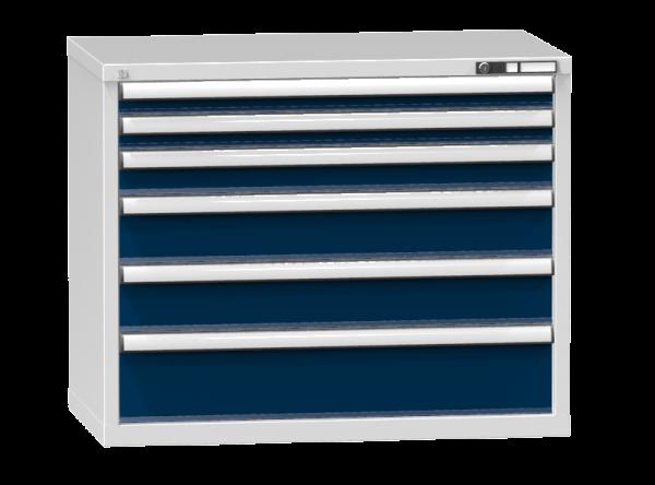 Schubladenschrank - Standcontainer - 2+1+2+1 Schublade - 840x1037x600 mm (HxBxT)