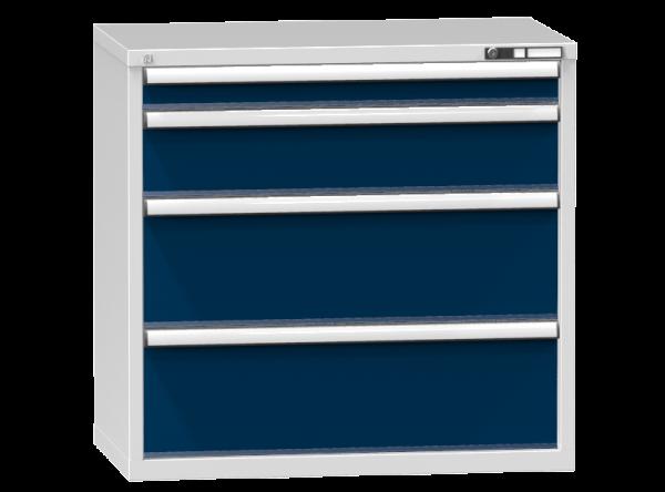 Schubladenschrank - Standcontainer - 1+1+2 Schublade - 990x1037x600 mm (HxBxT)