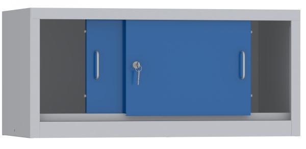 Aufsatzschrank mit Schiebetüren - 460x1000x400 mm (HxBxT)