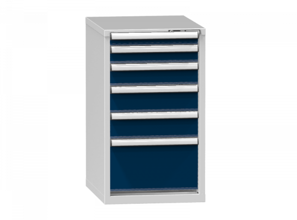 Schubladenschrank - Standcontainer - 1+1+1+2+1 Schublade - 990x578x753 mm (HxBxT)