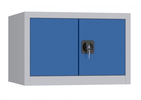 Aufsatzschrank mit Flügeltüren - 1 Fach - 460x700x600 mm (HxBxT)