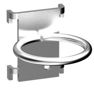 Einhängeprogramm YR1 - Rundhaken - D: 40 mm