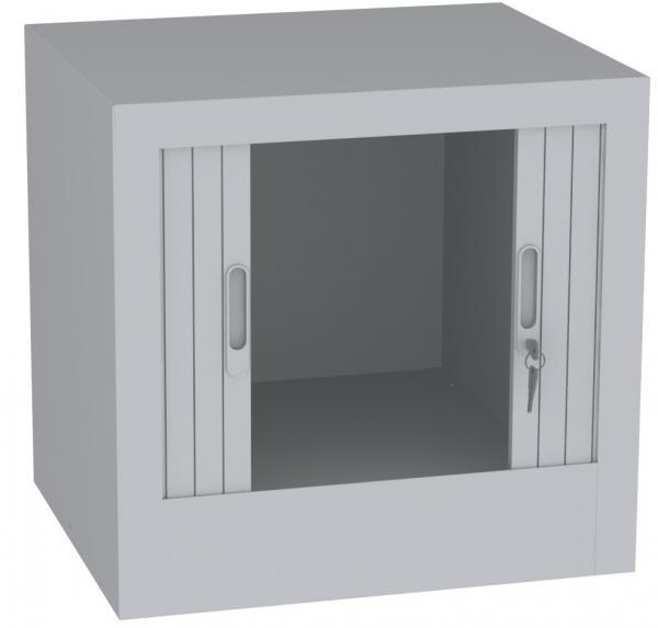 Aufsatzschrank mit Rollladen - 1 Fach - 505x600x600 mm (HxBxT)
