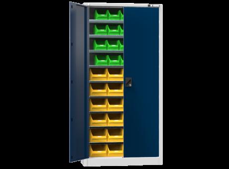 Universalschrank UK1 - mit Boxen - 1950x950x400 mm (HxBxT),