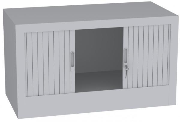 Aufsatzschrank mit Rollladen - 1 Fach - 505x1000x600 mm (HxBxT)