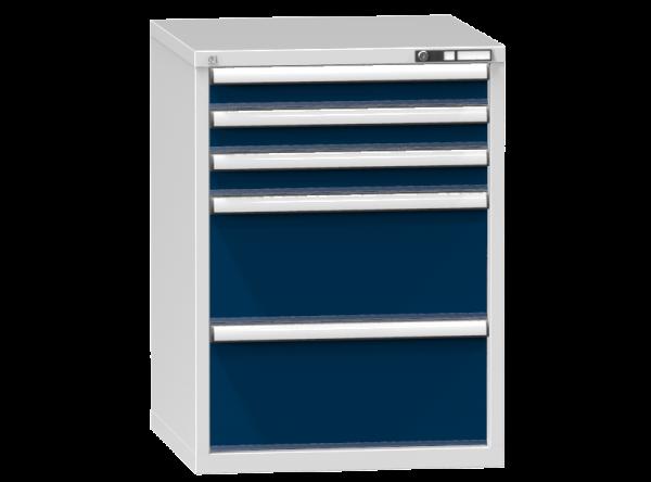 Schubladenschrank - Standcontainer - 3+2 Schublade - 990x731x753 mm (HxBxT)