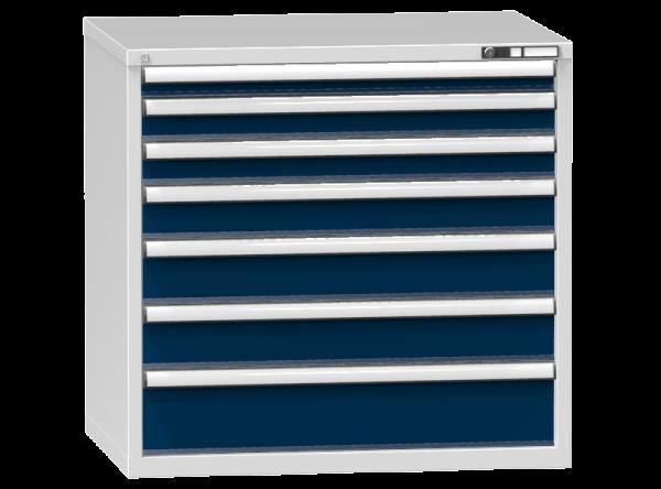 Schubladenschrank - Standcontainer - 1+2+1+2+1 Schublade - 990x1037x753 mm (HxBxT)
