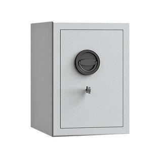 Möbeltresor - Sicherheitsstufe B - Einbruchschutz S2 - 605 x 425 x 380 mm - lichtgrau