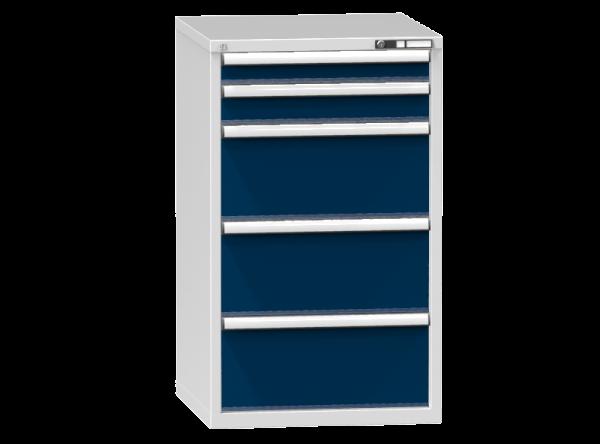 Schubladenschrank - Standcontainer - 1+1+3 Schublade - 1215x731x753 mm (HxBxT)