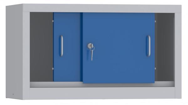 Aufsatzschrank mit Schiebetüren - 460x800x600 mm (HxBxT)