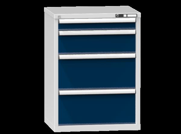 Schubladenschrank - Standcontainer - 1+1+2 Schublade - 990x731x600 mm (HxBxT)