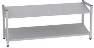 Schuhregal - 2 Böden - 490x1200x350 mm (HxBxT)