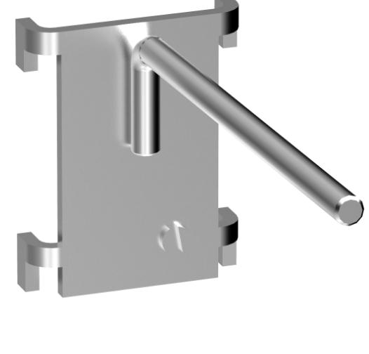 Einhängeprogramm YBA3 - gerader Haken - D: 90 mm