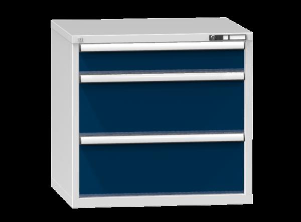 Schubladenschrank - Standcontainer - 1+2 Schublade - 840x884x753 mm (HxBxT)