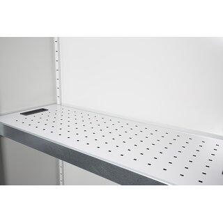 Lochblecheinsatz für Wannenboden mit 100 mm Seitenaufkantung 56624x - lichtgrau