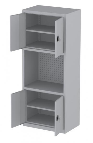 Werkstattschrank - 5 Fächer - 1950x1000x500 mm (HxBxT)