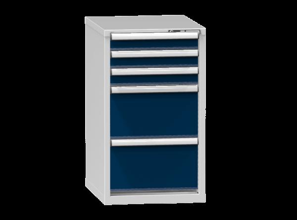 Schubladenschrank - Standcontainer - 3+2 Schublade - 990x578x753 mm (HxBxT)