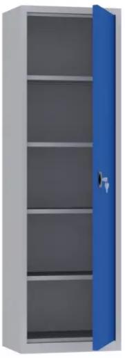 Büroschrank - 4 Einlegeböden - 1950x600x500 mm (HxBxT)