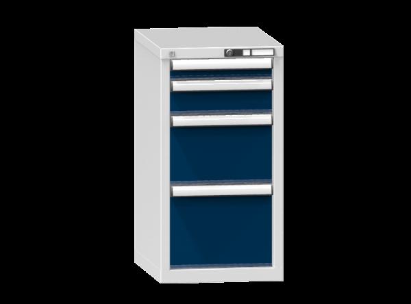 Schubladenschrank - Standcontainer - 1+1+1+1 Schublade - 840x442x600 mm (HxBxT)