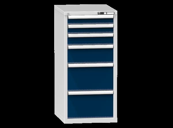 Schubladenschrank - Standcontainer - 2+1+1+2 Schublade - 1215x578x753 mm (HxBxT)