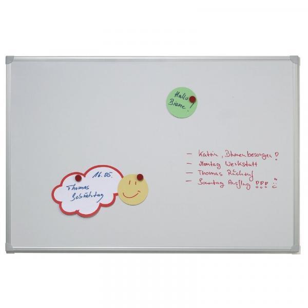 Magnetisches Whiteboard - weiß - verschiedene Größen