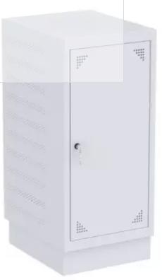Schrank für Laptops - 10 Fächer - 846x407x500 mm (HxBxT)