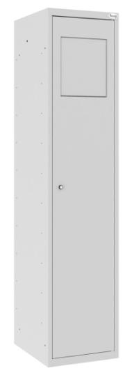 Wäschesammelschrank - 1 Abteil - mit Einwurfklappe - 1800x400x500 mm (HxBxT)