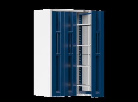 Vertikale Schränke - mit ausziebaren Türen - 4x Fachboden- 1950x1044x790 mm (HxBxT)