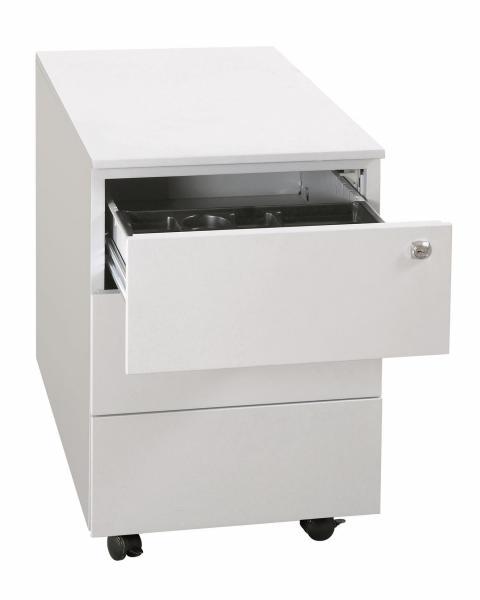 Rollcontainer - Seitengriffleiste - 3 Schubladen - 620x400x590 mm (HxBxT)