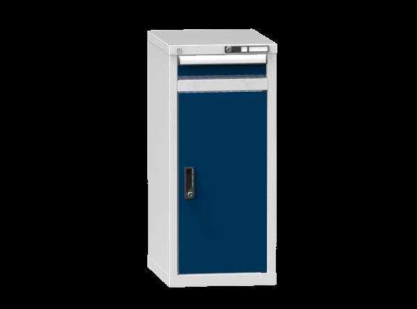 Schubladenschrank - Standcontainer - 1 Schublade, 1x Tür 800 mm - 990x442x600 mm (HxBxT)