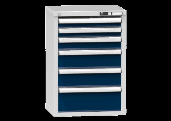 Schubladenschrank - Standcontainer - 2+1+2+1 Schublade - 840x578x464 mm (HxBxT)