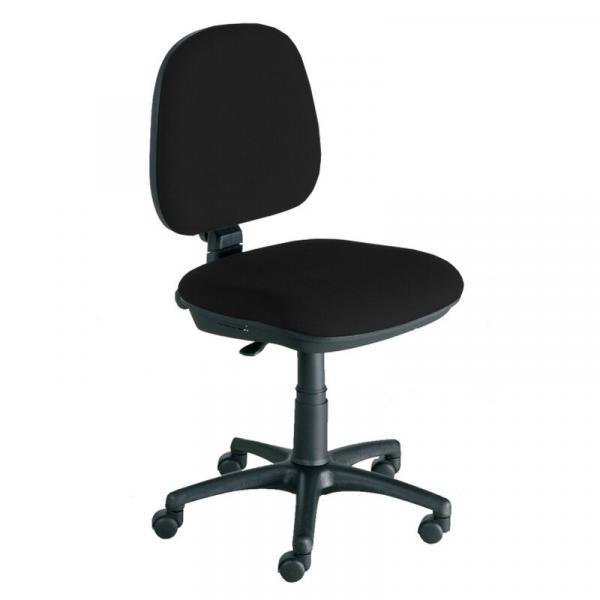 Bürodrehstuhl - mittelhoch - gepolstert - Kunststofffußkreuz