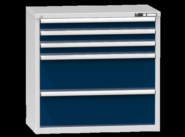 Schubladenschrank - Standcontainer - 3+2 Schublade - 990x1037x600 mm (HxBxT)