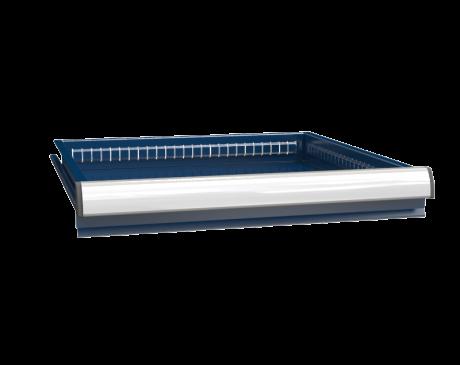 Schublade ZBE (36x36D) - für KZ-Prüfarbeitsplätze - einfacher Auszug