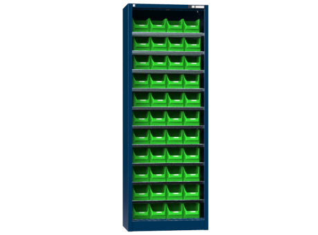 Schrank UK1 - mit Boxen - ohne Tür - 1950x950x400 mm (HxBxT)