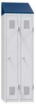 Schrägdach – für Abteilbreite 900 mm