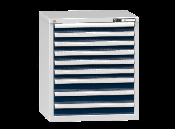 Schubladenschrank - Standcontainer - 6+3 Schublade - 840x731x600 mm (HxBxT)