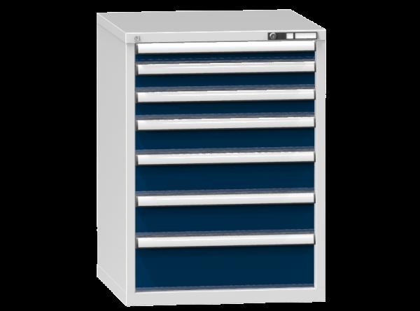 Schubladenschrank - Standcontainer - 1+2+1+2+1 Schublade - 990x731x753 mm (HxBxT)