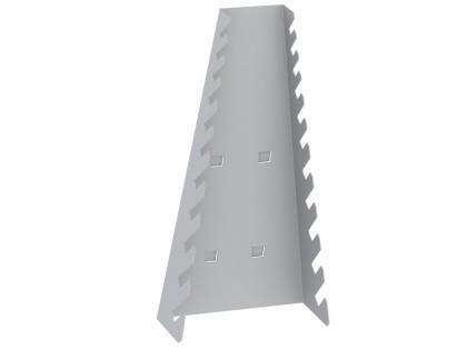 Halter für Schraubenschlüssel - Zubehör für Lochwand/Werkzeugtafel/Lochplatte