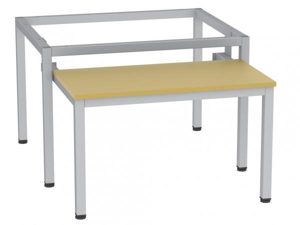 Sitzbank - ausziehbar - zum Schrank SU300/2 - 395x610x770 mm (HxBxT) - (v. Auszug 485mm)