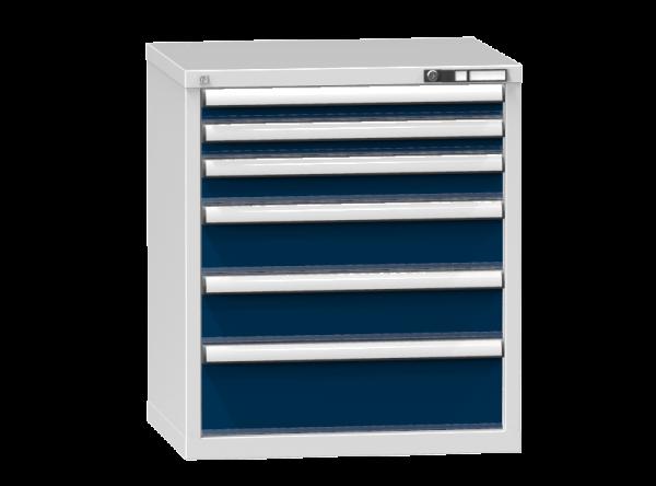 Schubladenschrank - Standcontainer - 2+1+2+1 Schublade - 840x731x600 mm (HxBxT)