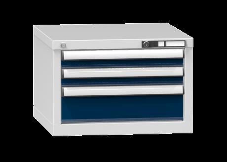 Schubladenschrank - Standcontainer - 2+1 Schublade - 390x578x600 mm (HxBxT)