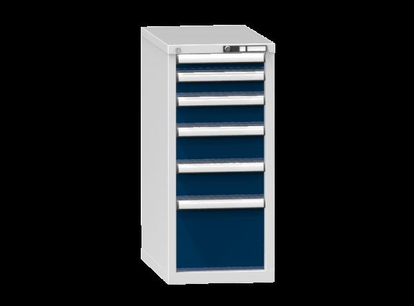Schubladenschrank - Standcontainer - 1+1+2+1 Schublade - 990x442x753 mm (HxBxT)