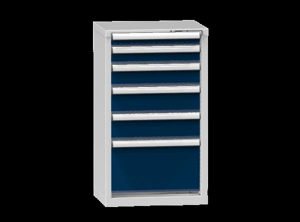 Schubladenschrank - Standcontainer - 1+1+1+2+1 Schublade - 990x578x464 mm (HxBxT)
