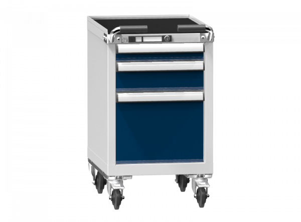 Mobile Container - Rollcontainer - 1+1+1 Schublade- 785x442x600 mm (HxBxT)
